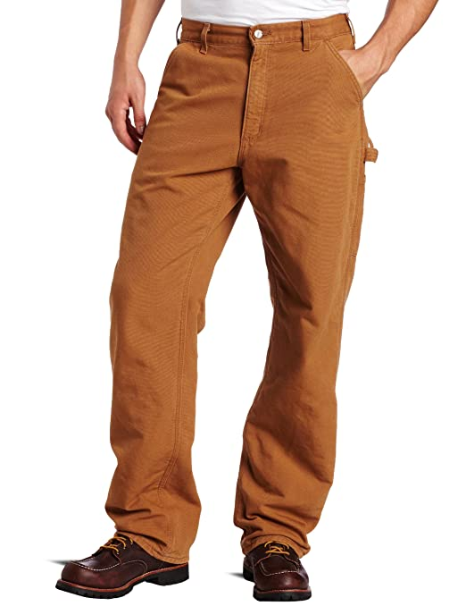 Hot boys Clothing & Accessories:Carhartt Men's Flannel Lined Washed Duck Dungaree Pant review