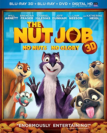 Amazon.com: The Nut Job (Blu-ray 3D + Blu-ray + DVD + DIGITAL HD ...