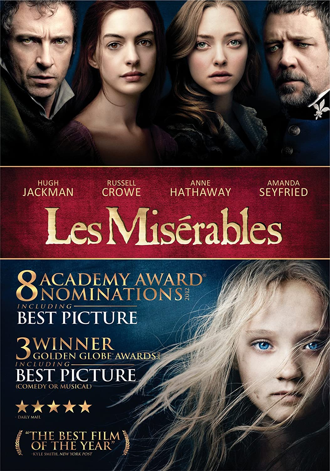 les mis on dvd