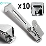 10× Medical X-Ray Film Hanger Single Clip 2.2