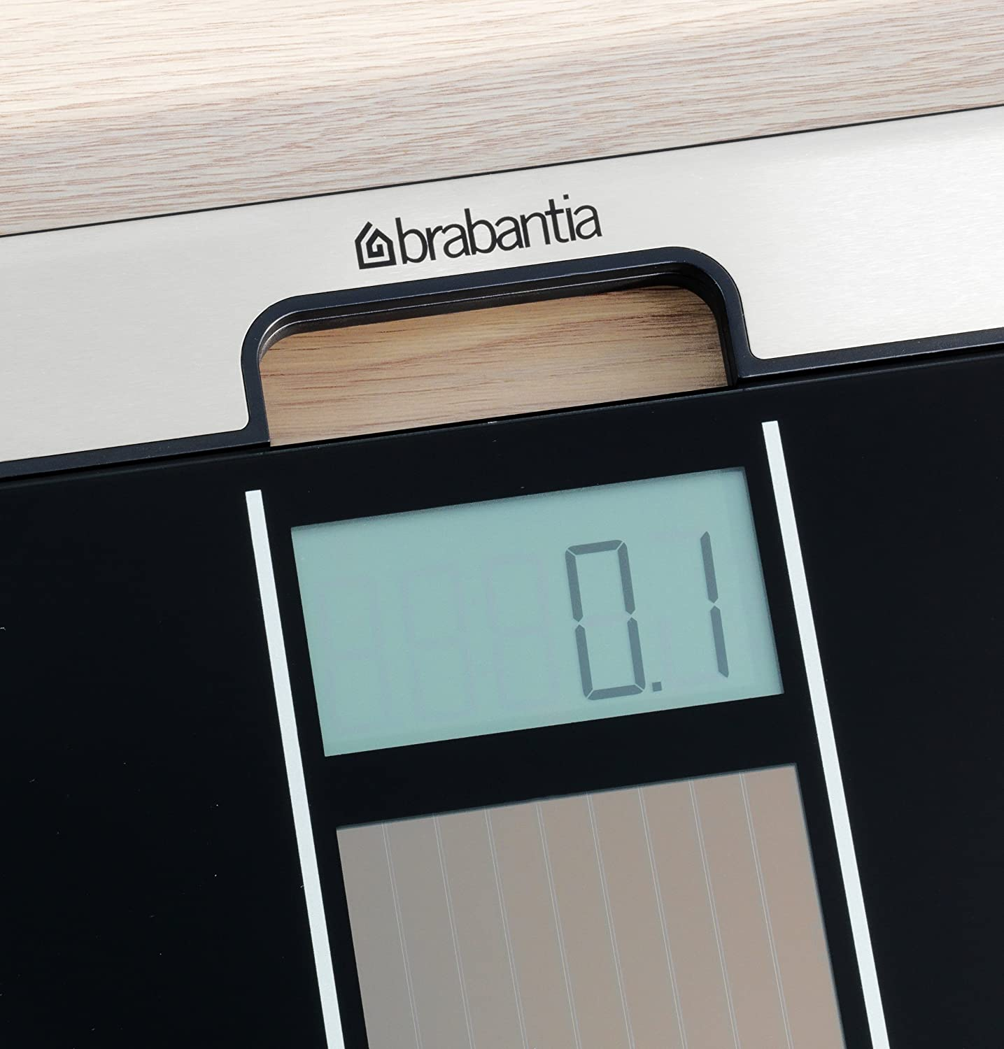 Most Accurate Bathroom Scale 2014: Brabantia 481109 Solar Powered Bathroom Scales