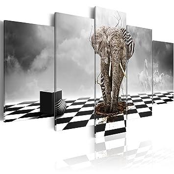 5 impression sur toile 200x100 cm cm grand format 5 parties image sur toile images. Black Bedroom Furniture Sets. Home Design Ideas