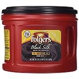 Folgers Black Silk Ground Coffee, 24.2 Ounce