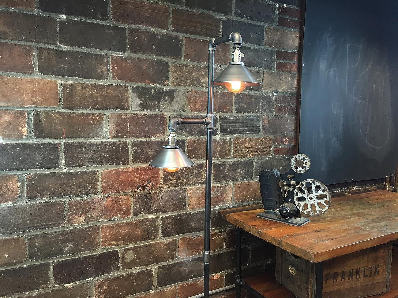 Industrial Floor Lamp - Edison Bulb Pendant 5