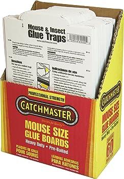 60-Pks. Catchmaster Bulk Packed Glue Boards