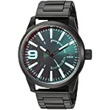 Diesel Men's Quartz Stainless Steel Casual Watch, Color Black (Model: DZ1844) (Color: Black, Tamaño: One Size)