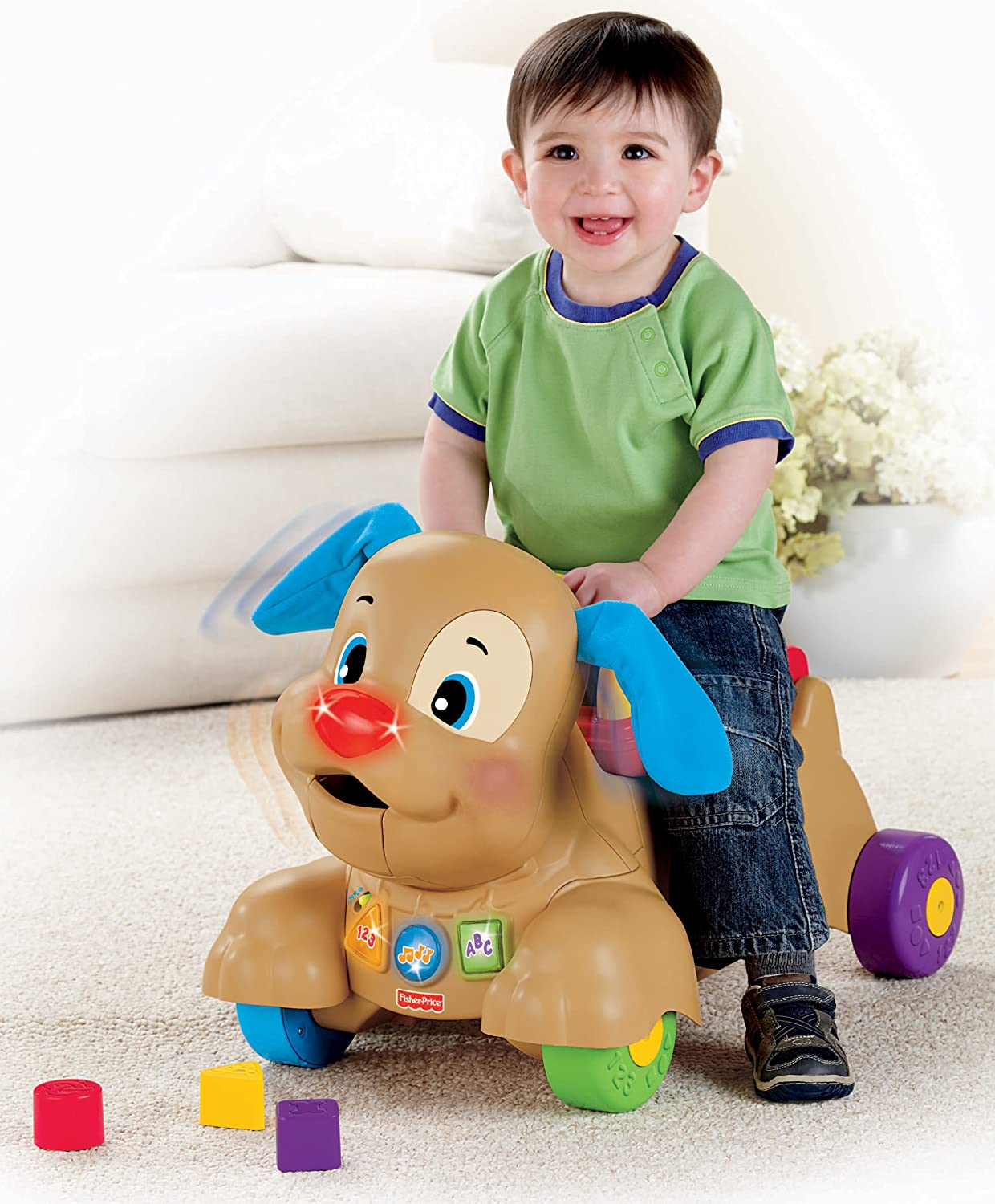 NEW Fisher Price Baby Learning Ride On Puppy Dog, Toddler ...