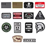 14er Tactical Morale Patches (14-Pack) | Hook & Loop Backed, 3