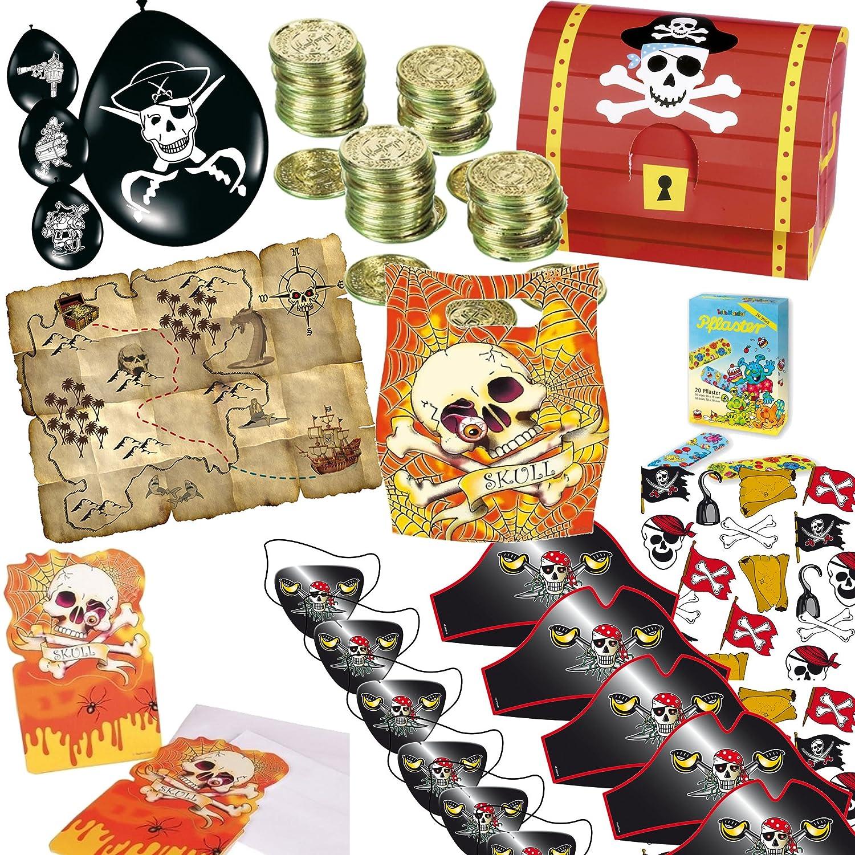 Piraten Kindergeburtstag Schatzsuche Piraten Und Schatzsuche Set