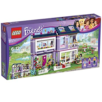 Lego Friends - 41095 - Jeu De Construction - La Maison D'Emma