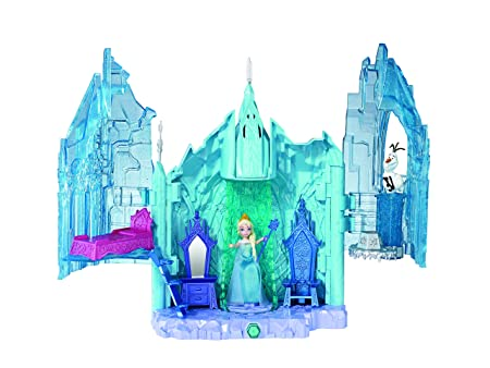 Disney Frozen Small Doll Elsa and Magical Lights Palace