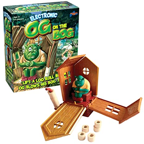 Og on the Bog – Jeu de Société l'Ogre au Petit Coin Version Anglaise