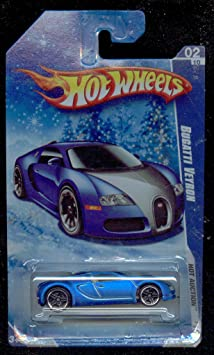 hot wheels 2010 160 blue bugatti veyron hot auction. Black Bedroom Furniture Sets. Home Design Ideas