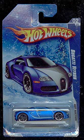 hot wheels 2010 160 blue bugatti veyron hot auction snow scene card 1 64 scale available at. Black Bedroom Furniture Sets. Home Design Ideas