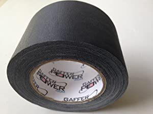 e17b83a62b REAL Professional Premium Grade Gaffer Tape by Gaffer Power - Made in the  USA - Heavy Duty Gaffers ...