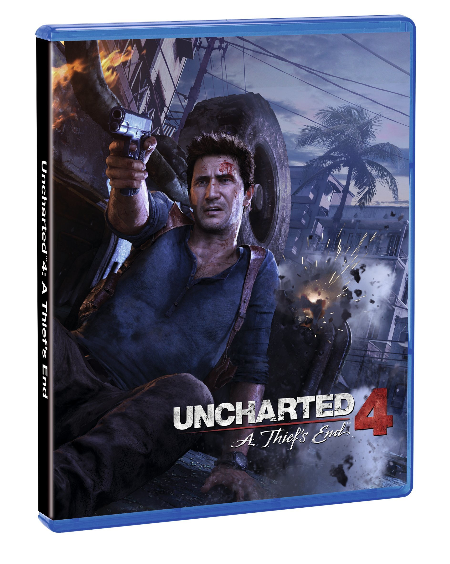 Official Reversible Cover Uncharted