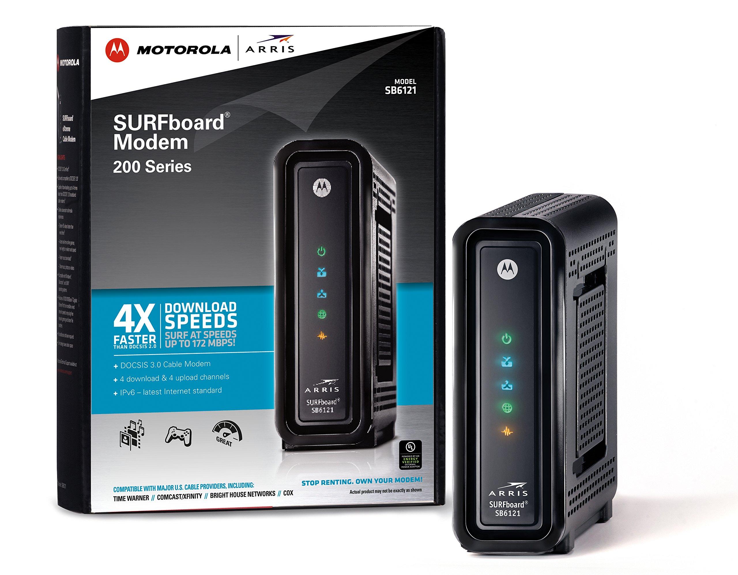 Arris Motorola Surfboard Sb6121 Docsis 3 0 Cable Modem