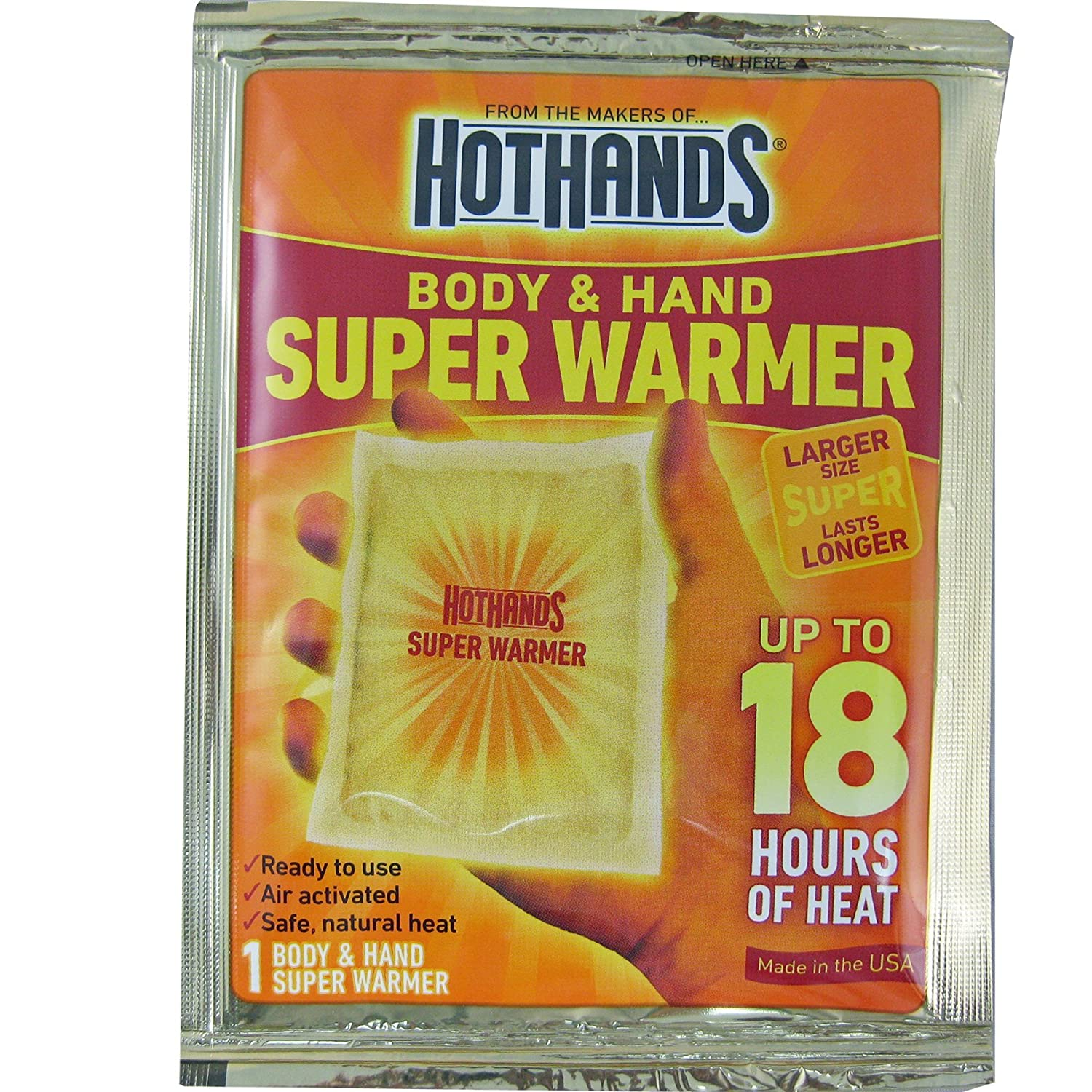 Body & Hand Super 18 Hour Warmers - Air Activated