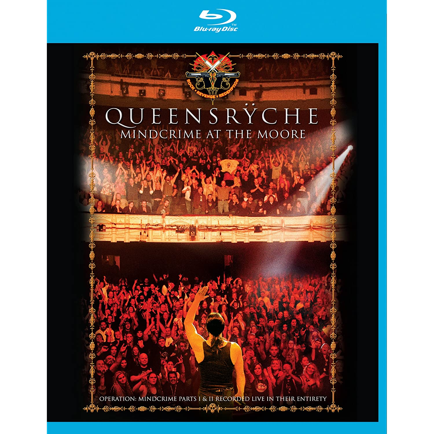 Queensrÿche - Mindcrime At The Moore Blu-ray