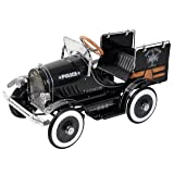 Dexton Police Pick Up Pedal Car (Color: Black, Tamaño: One Size)