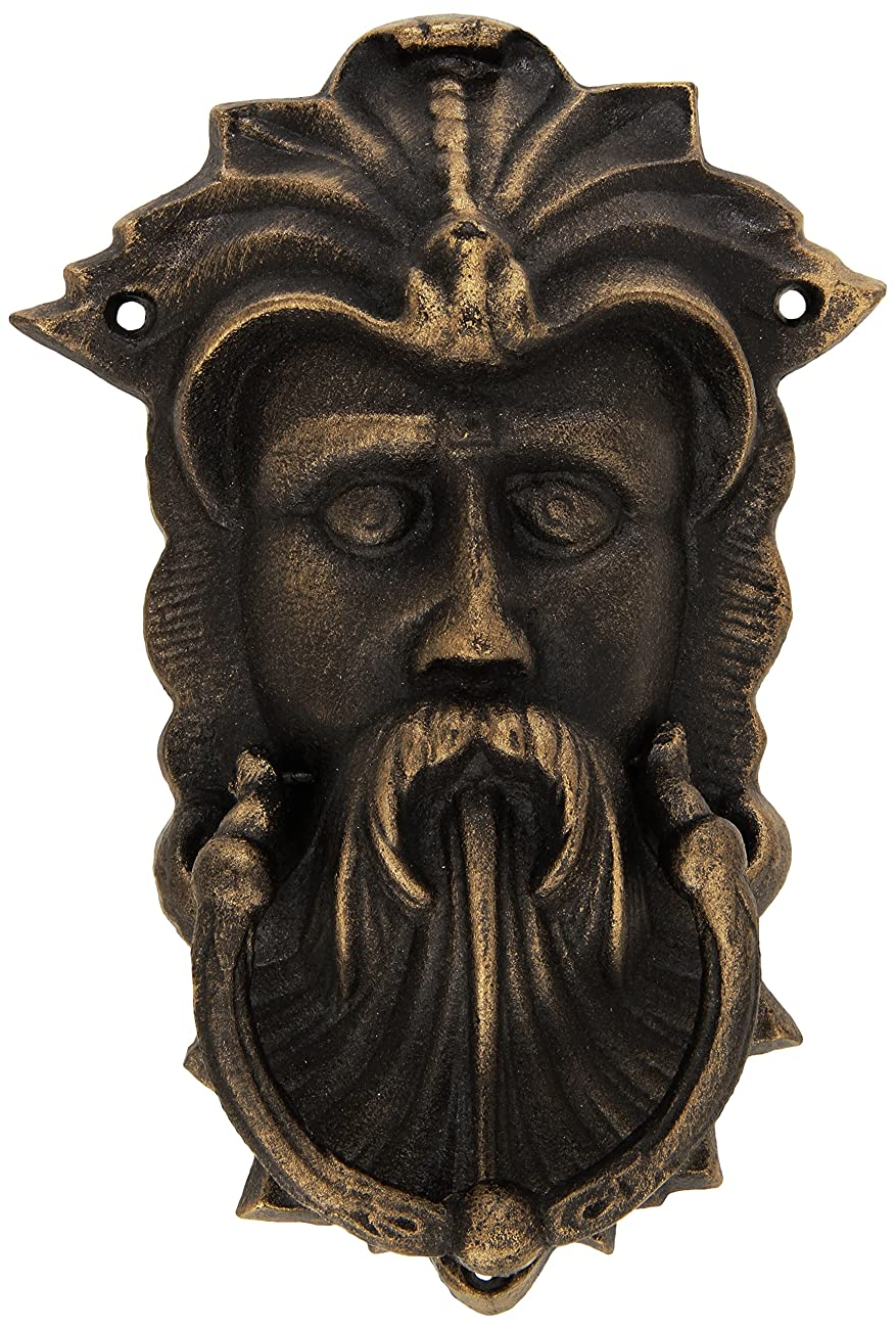 Design Toscano Sutherland House Greenman Authentic Foundry Door Knocker 0