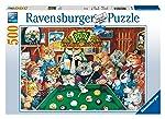 Ravenburger Puzzles Ravensburger Pool Hall Cats, Multi Color