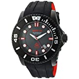 Invicta Men's 'Pro Diver' Automatic Stainless Steel and Silicone Diving Watch, Color:Black (Model: 20205) (Color: black)