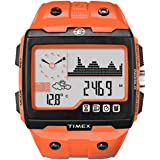 Timex Expedition WS4 Widescreen 4-Function Watch (Orange/Black) (Color: Orange / Black, Tamaño: Full Size)