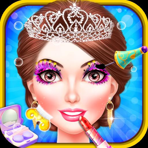 Princess palace salon makeover spa le maquillage et - Jeux de fille gratuit de cuisine et de coiffure ...