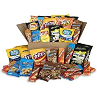 50-Count Sweet & Salty Snack Box (Cookies, Crackers, Chips & Nuts)