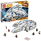 LEGO Star Wars Solo: A Star Wars Story Kessel Run Millennium Falcon 75212 Building Kit and Starship Model Set, Popular Building Toy and Gift for Kids (1414 Piece) (Color: Multi)