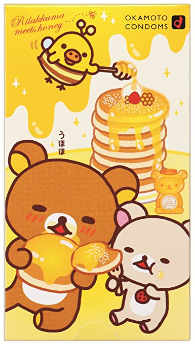 冈本OK轻松熊卡通可爱超薄避孕套安全套10只,冰临晨下,需要我们!