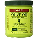 Organic Root Stimulator Olive Oil Professional Creme Relaxer, Extra Strength, 531 grams (Tamaño: 18.75 Ounce)