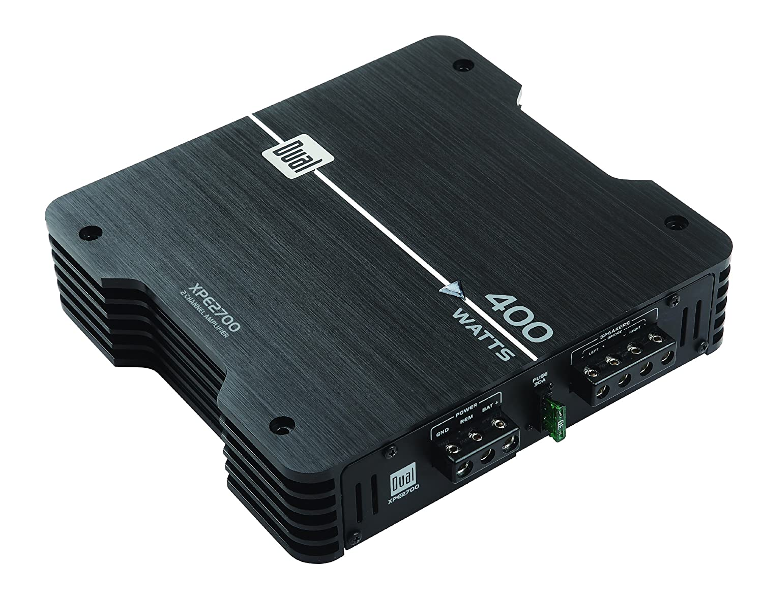 Amazon.com : Dual XPE2700 400-Watt Max 2-Channel MOSFET XPE Series Power Amplifier : Vehicle Multi Channel Amplifiers