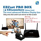 EZCast PRO BOX + 4 EZLauners wireless display box High Speed 802.11ac WiFi & Builds-in 10M/100M Ethernet HDMI/VGA output Conference Authority Control