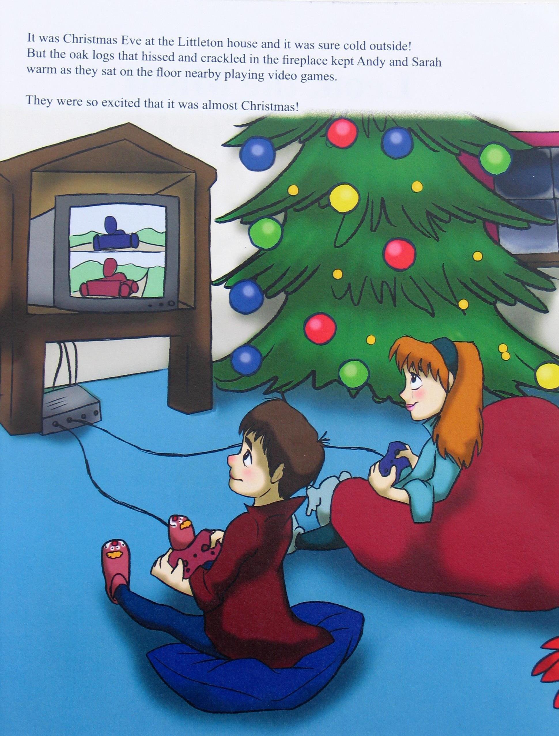 leon the misfit christmas stocking