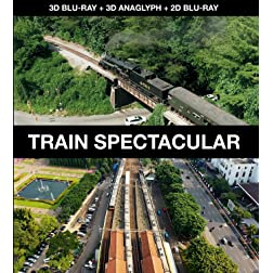 Train Spectacular [3D Blu-ray + 3D Anaglyph + 2D Blu-ray] [Blu-ray]