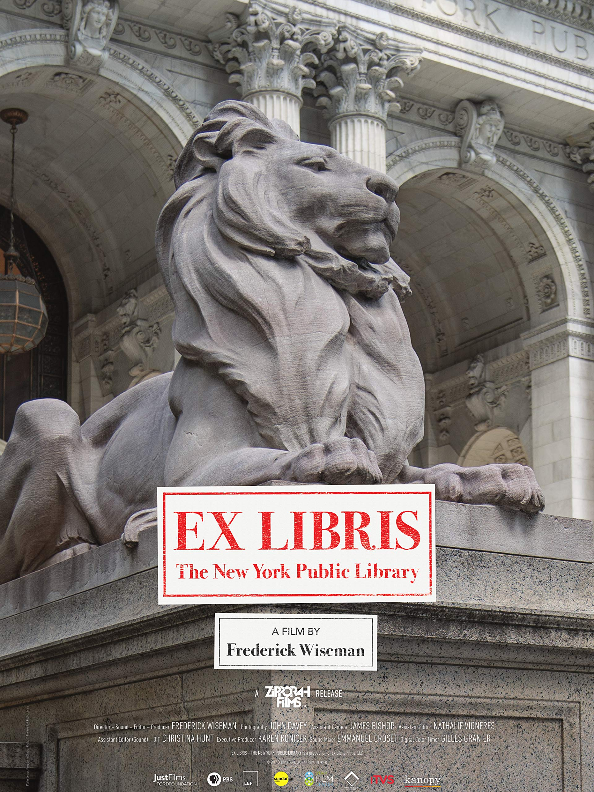 Ex Libris - The New York Public Library on Amazon Prime Instant Video UK