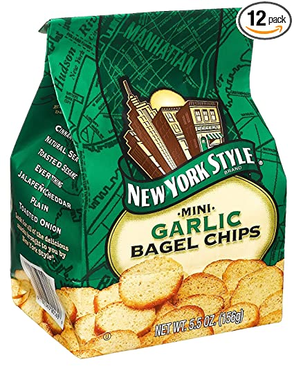 Bagel Chips Brands Mini Bagel Chips Garlic