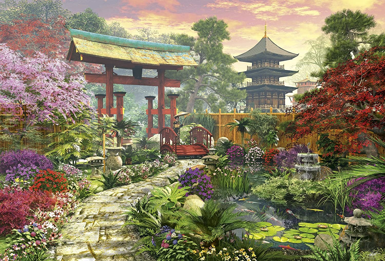 Japan Garden puzzle Educa