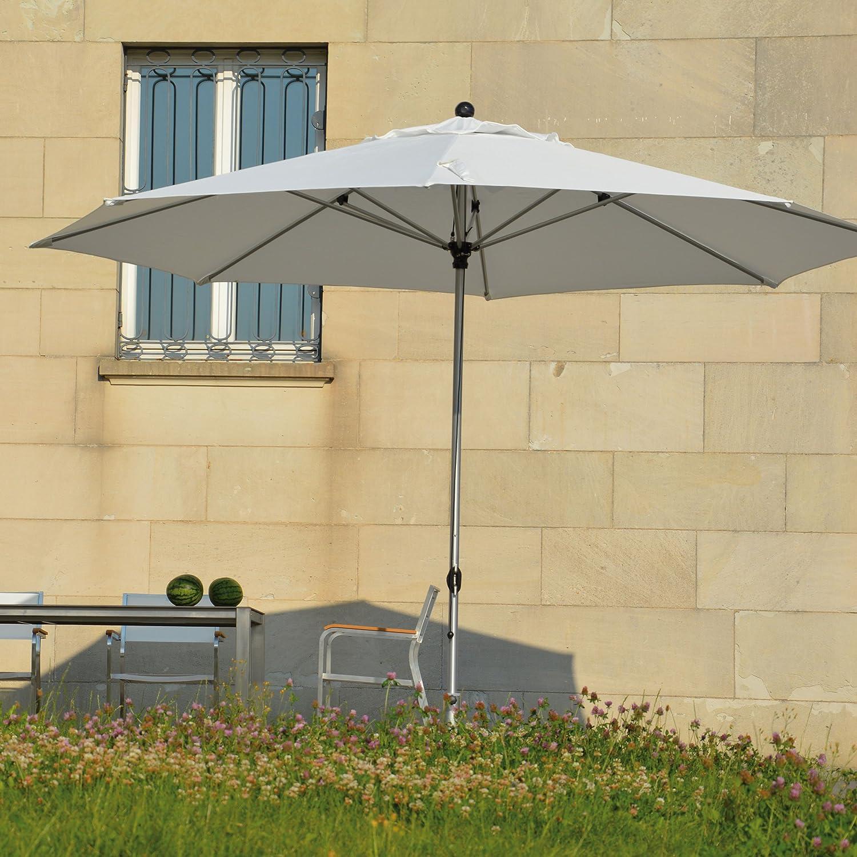Lino Sonnenschirm ø 350 cm weiß