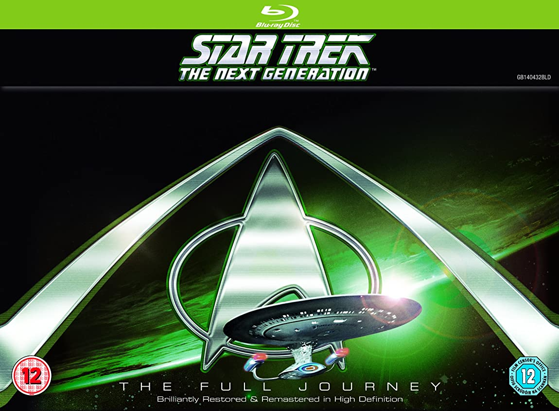 Star Trek: The Next Generation - Seasons 1-7 [Blu-ray] [Region Free]
