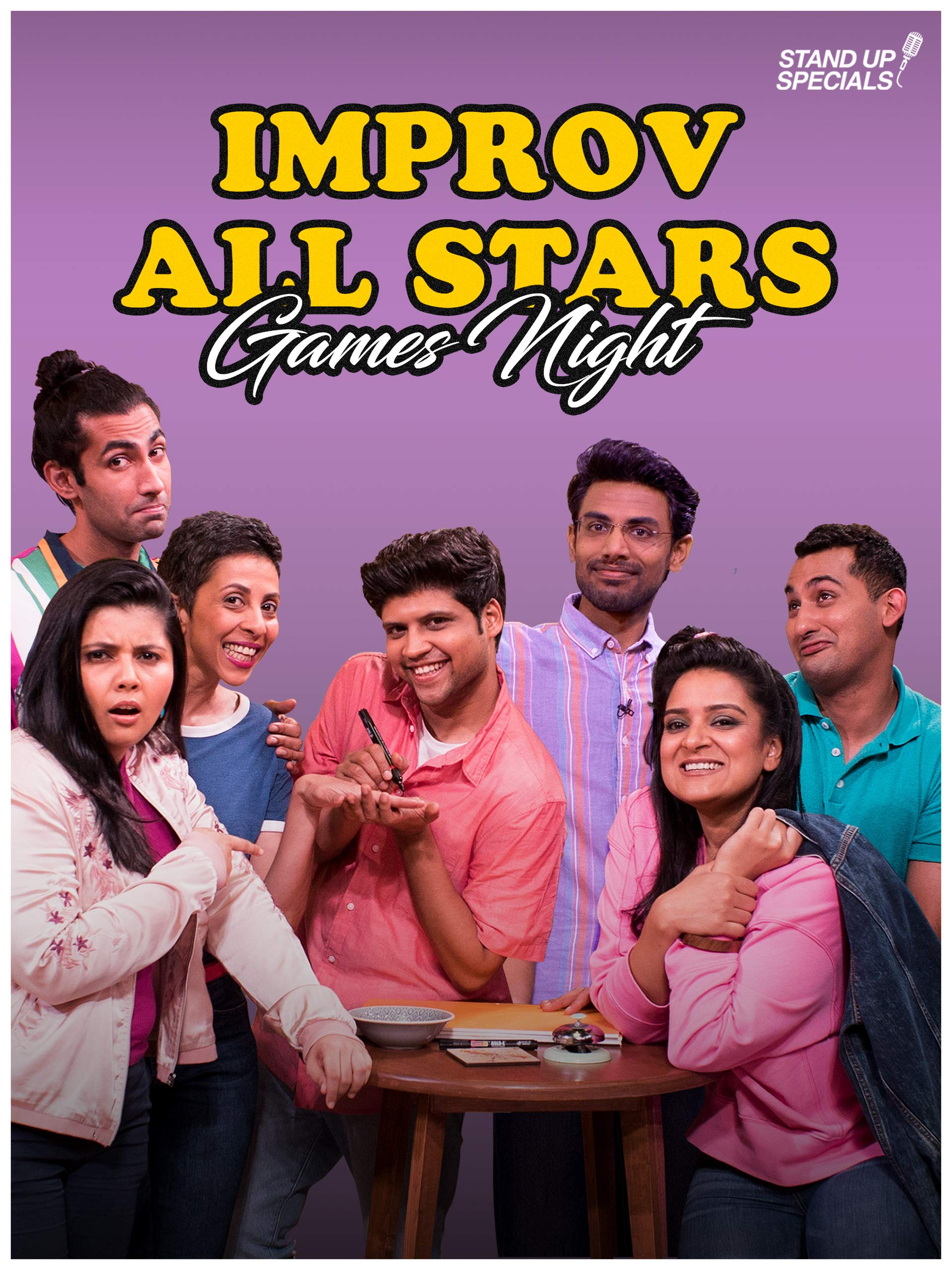 Improv All Stars - Games Night