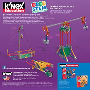 K'NEX Education STEM EXPLORATIONS: Levers & PULLEYS Building Set Building Kit