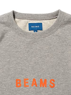 (ビームス)BEAMS/スウェット/ロゴ スウェット クルーネック メンズ