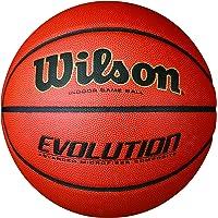 Wilson Evolution Indoor Game Basketball (Orange)