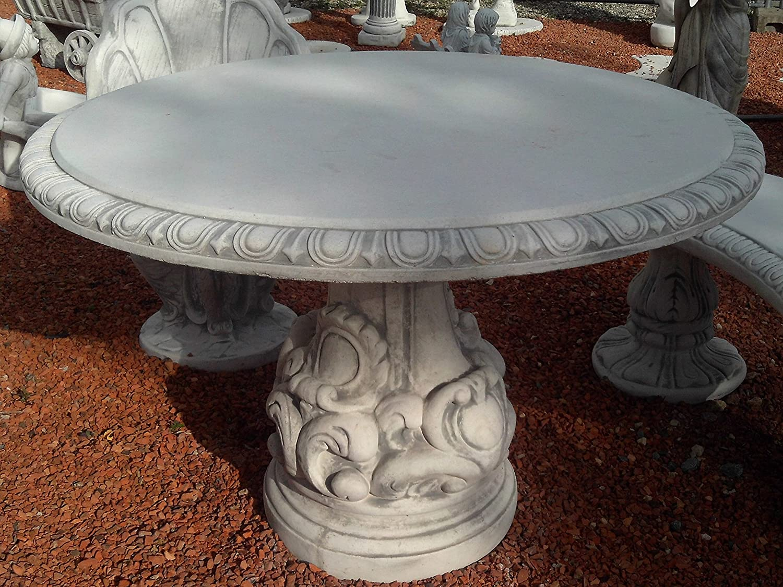 Gartenmöbel Tisch aus Steinguss, frostfest