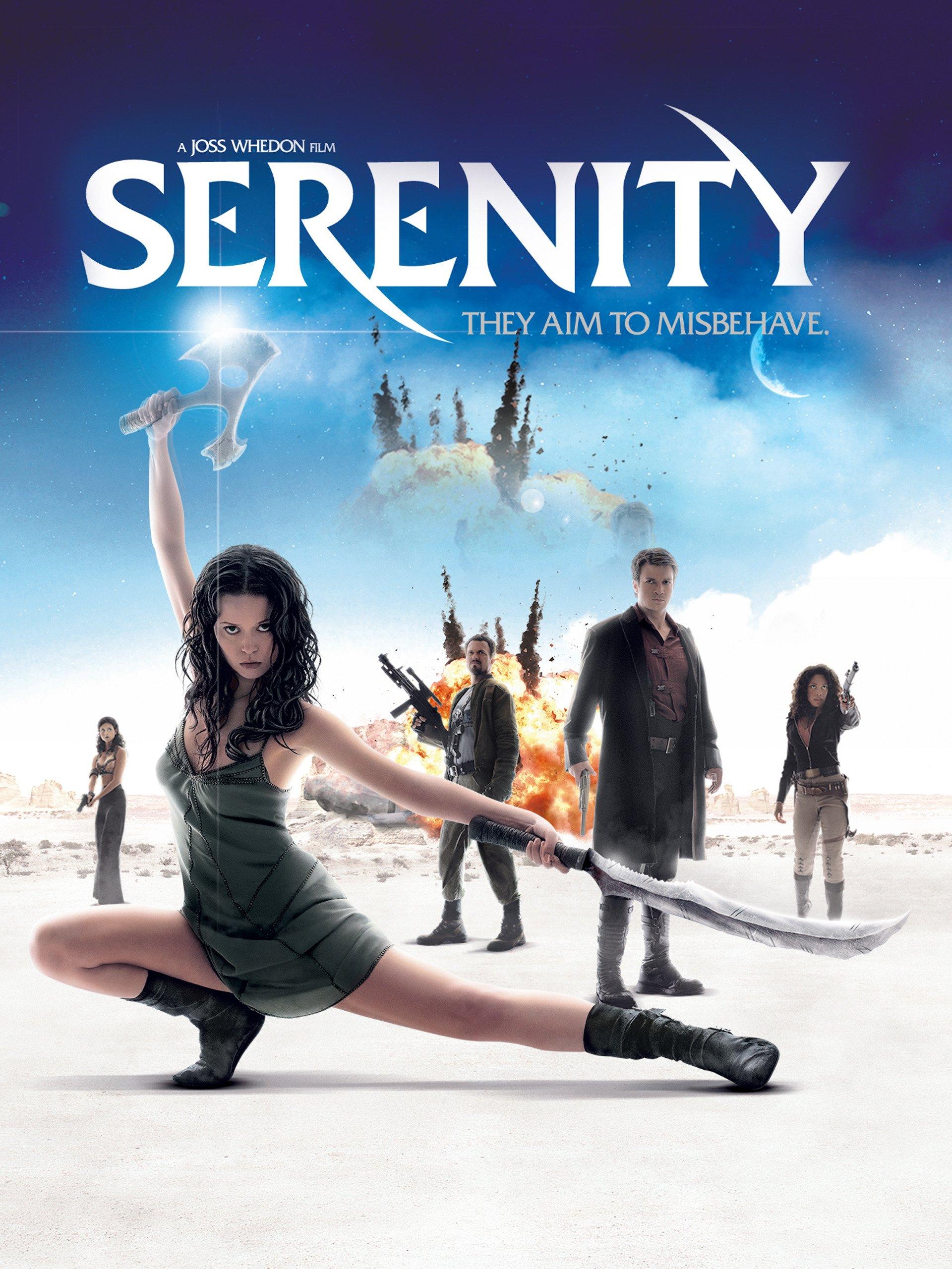 Serenity on Amazon Prime Instant Video UK
