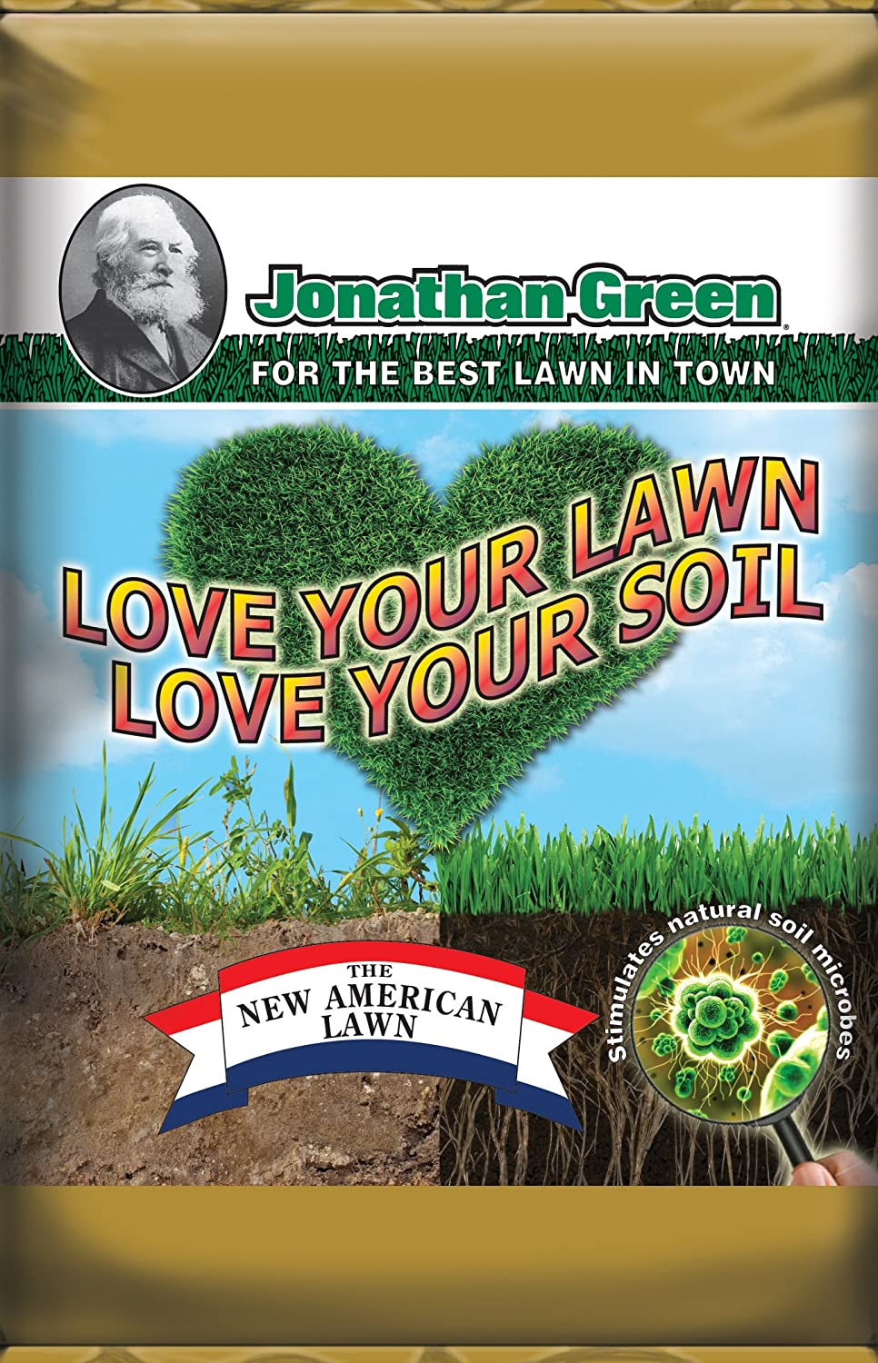 Jonathan Green & Sons 12198 Love Your Lawn - Love Your Soil Fertilizer, Covers 5,000-Sq. Ft. jonathan swift guliver