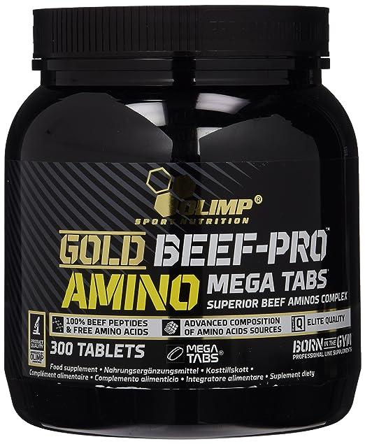 Olimp Gold Beef Pro Amino, 300 Tabletten, 1er Pack (1 x 645 g)